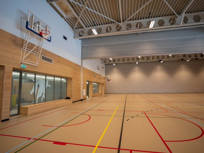 vouwwand sportzaal