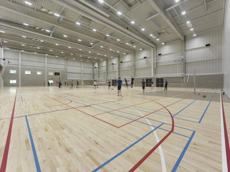sportzaal KU Leuven