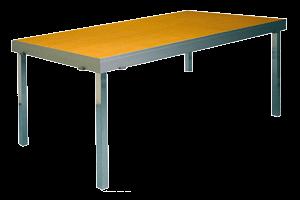 houten tafel transparant