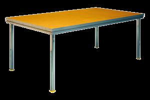 houten podium element transparant
