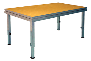 verstelbare houten podium