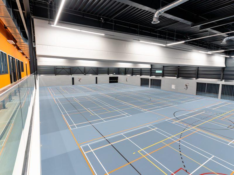 Overview sporthal giessenburg